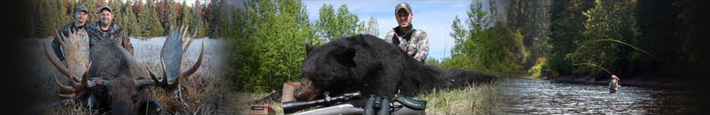 Moose Hunting, Black Bear hunting, and Fishing